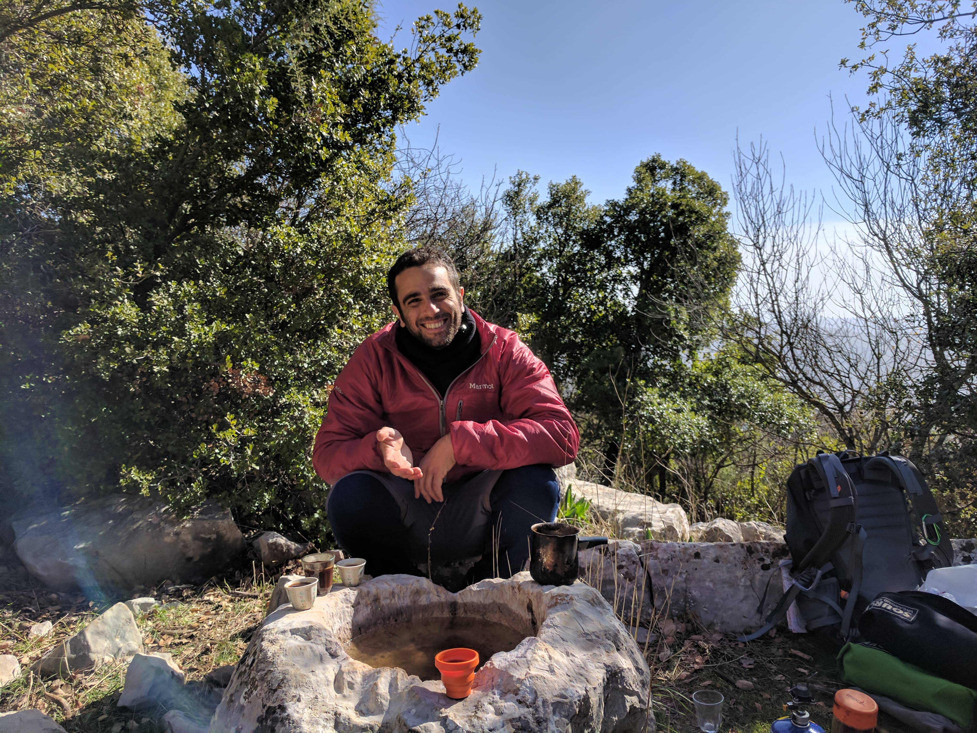 הר סנאים והר כחל - המקדש היטורי