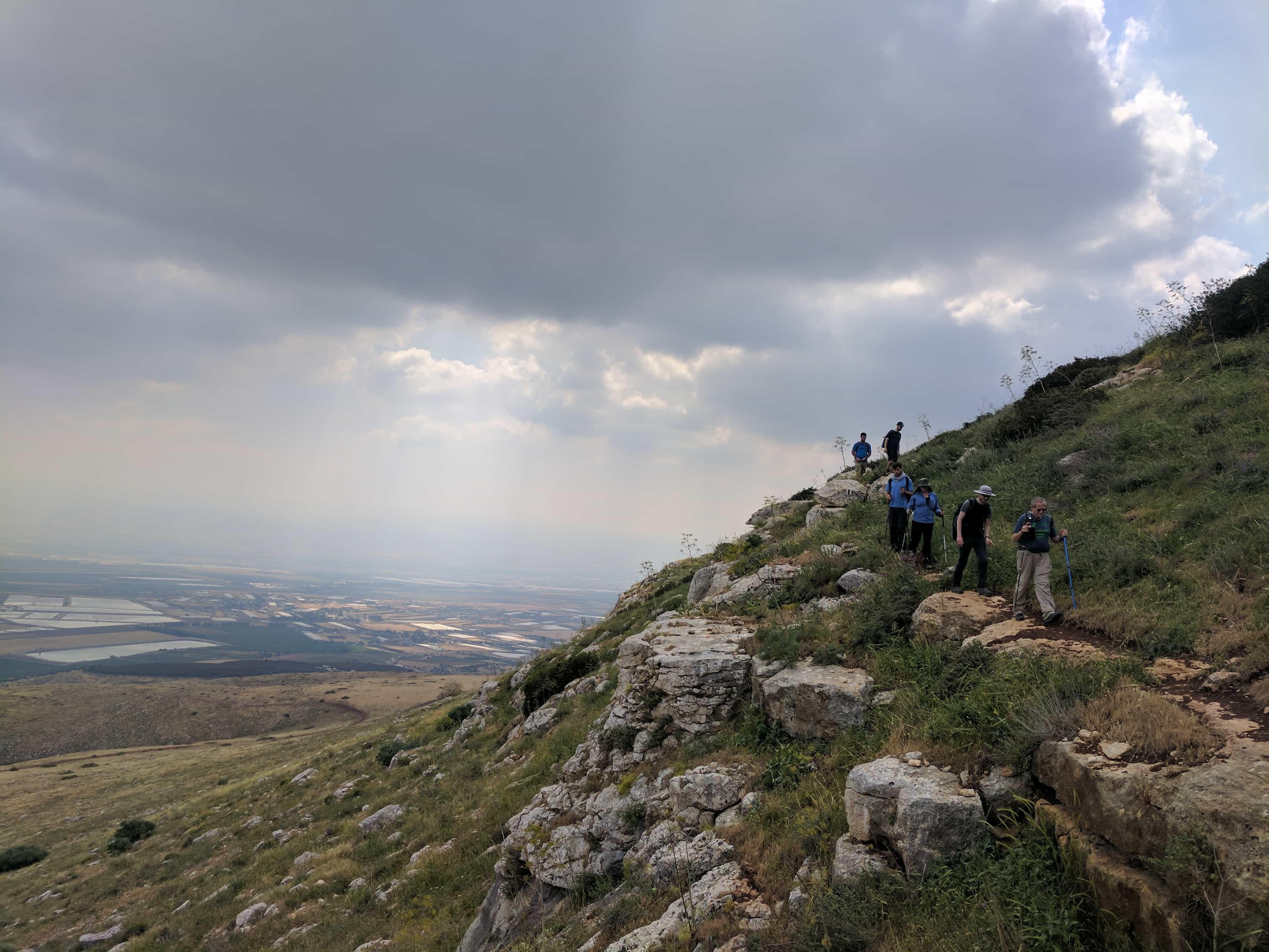 טרק הר הגלבוע - ממתלול אבנידב להר צביה
