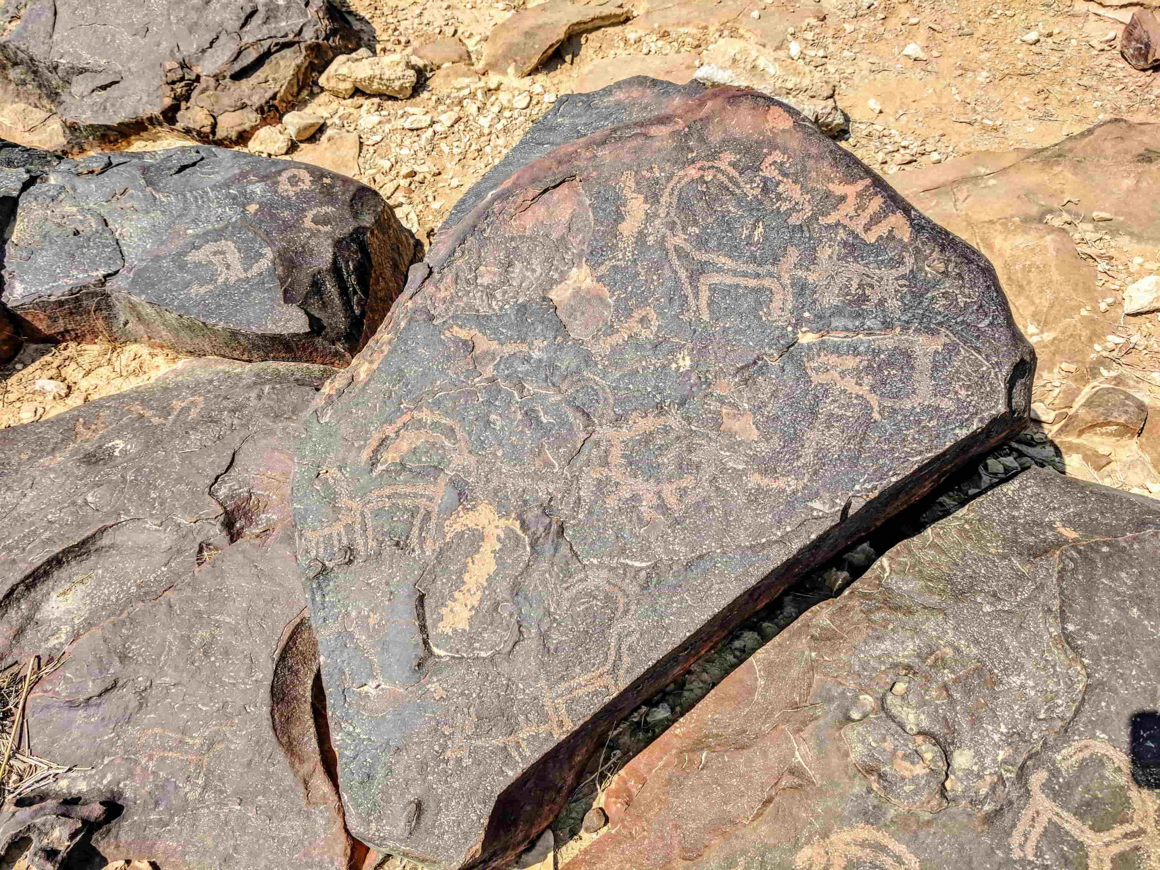 ציורי הסלע על הר ערקוב