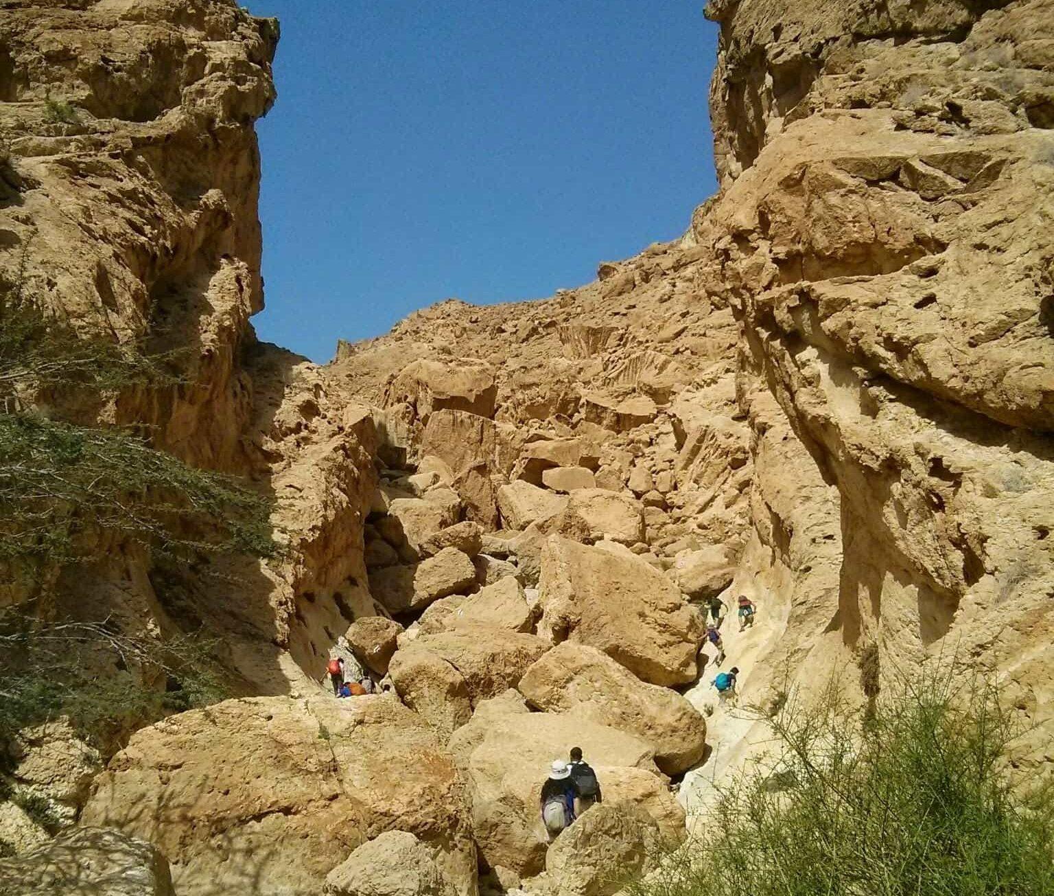 טרק רכס חצרה והמכתש הקטן