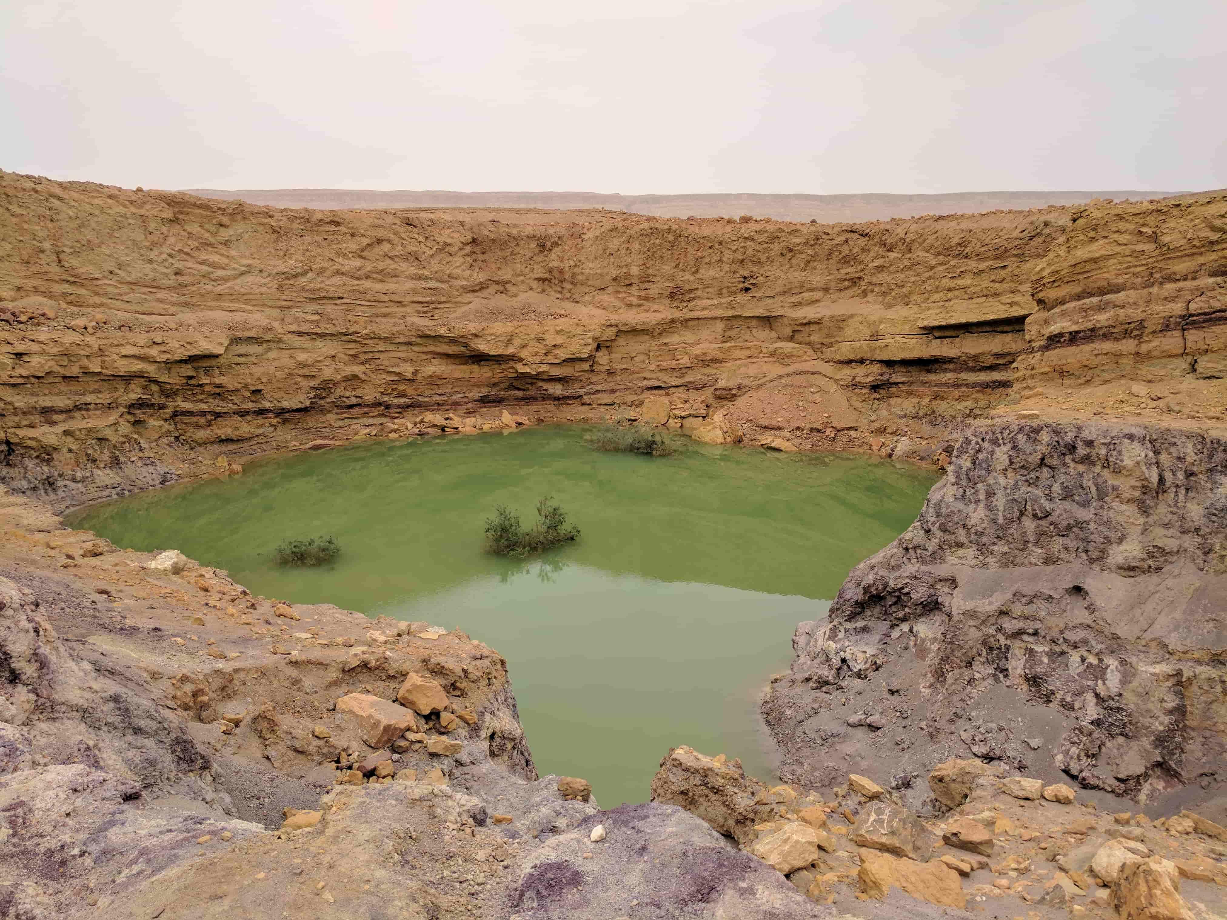 גן לאומי צבעי המכתש
